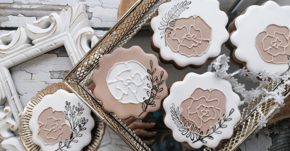 Ciasteczka dekoracyjne nakomunie, urodziny iinne okazje